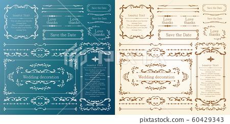 婚禮裝飾設計材料集 60429343