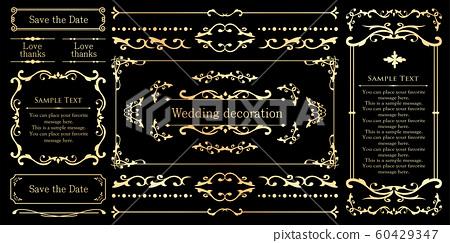 婚禮裝飾設計材料集 60429347