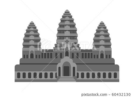Cambodia / Angkor Wat | World Famous Buildings (Ruins, Buildings, World Heritage, Landmark) 60432130