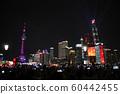 東方明珠夜景週年慶燈光秀 60442455