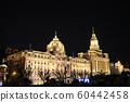 上海建築群東方明珠燈光夜景 60442458