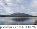 山中湖的富士山 60446792