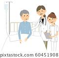 住院,医生和护士 60451908