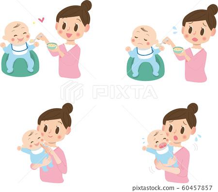 寶貝和媽媽 60457857