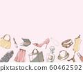 Fashion frame_under_pink 60462592