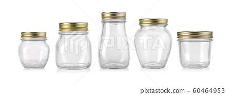 empty glass jar 60464953