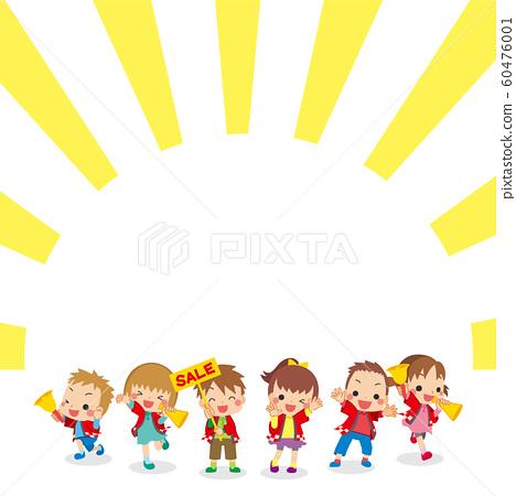 要求搭配搭配大衣銷售的兒童框架 60476001