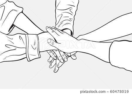 hands together 60478019