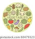 流行蔬菜卡 60479323