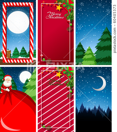 Background templates with christmas theme 60485373
