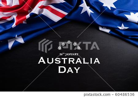 Australia day concept. Australian flag 60486536