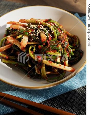 한국의 전통음식 파김치 60490855
