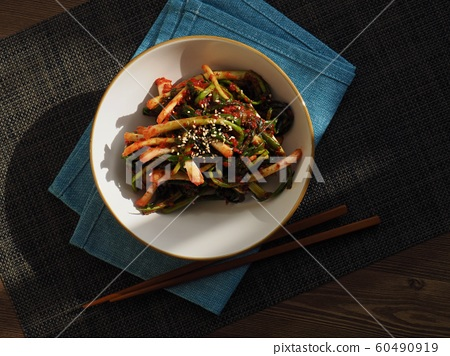 한국의 전통음식 파김치 60490919