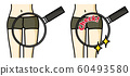 大腿修身大腿色調特寫 60493580