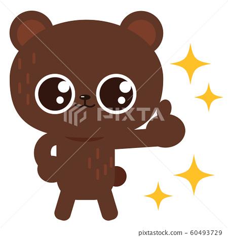 熊姿勢圖素材 60493729