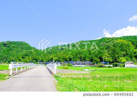 여름의 시골 풍경 60495682