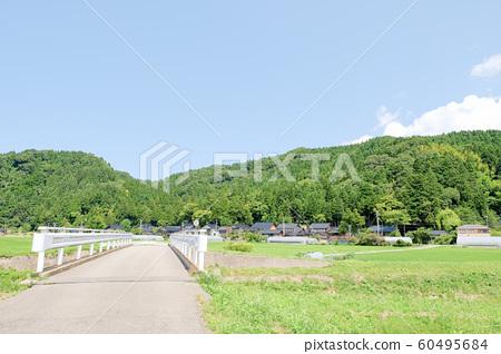 여름의 시골 풍경 60495684