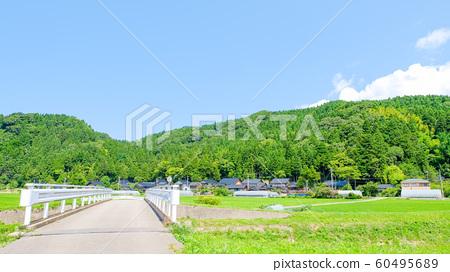 여름의 시골 풍경 60495689