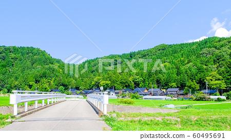 여름의 시골 풍경 60495691