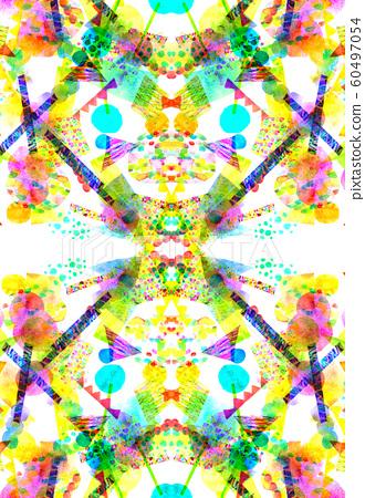 背景材料水彩紋理框架 60497054