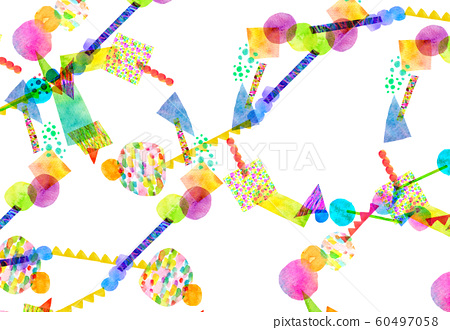 背景材料水彩紋理框架 60497058