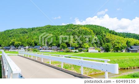 여름의 시골 풍경 60499150