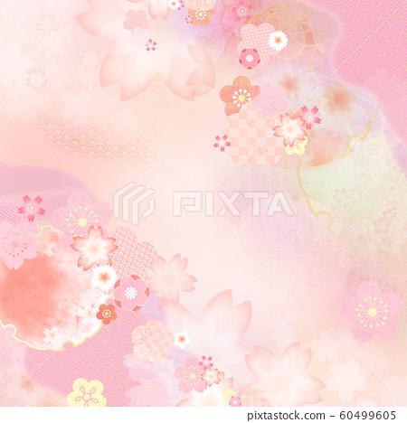 背景日本日本模式日本春天粉紅色 60499605