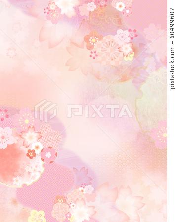 背景日本日本模式日本春天粉紅色 60499607