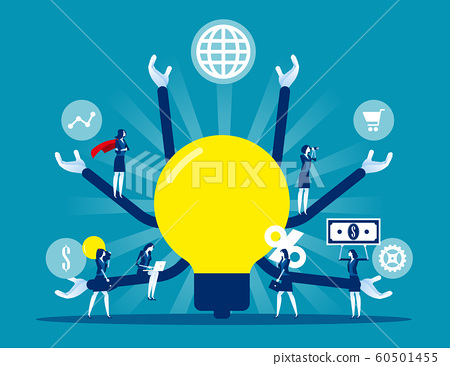 Teamwork plan strategy leadership for success 60501455