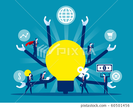 Teamwork plan strategy leadership for success 60501456