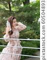 아름다운 대한민국 여성의 표정, 공원 산책 60504893