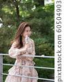 아름다운 대한민국 여성의 표정, 공원 산책 60504903