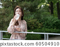 아름다운 대한민국 여성의 표정, 공원 산책 60504910