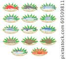 新鮮魚的插圖 60509811