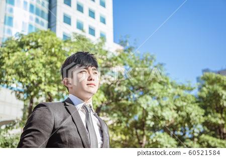 Portrait of  asian handsome business man 60521584