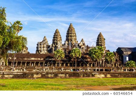 Angkor wat, Hindu temple in Siem reap. 60546654