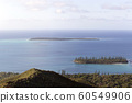 The coast view from ile des pins 60549906