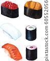 壽司6件套[壽司] [日式] [日本文化] [組] 60552056
