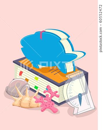 Oceanography Book Hydrometer Illustration 60552472