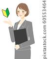 新員工女性年輕求職者播音員職業顧問客戶支持 60553464