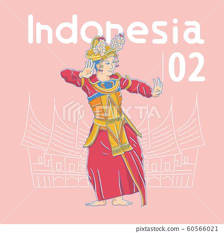 印度尼西亞傳統舞蹈 60566021