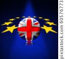 Brexit concept - UK leaving the European Union 60576773