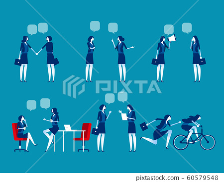 Business people character set. Concept business 60579548