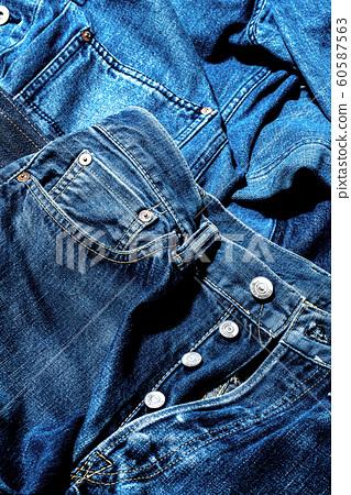 牛仔牛仔褲 60587563