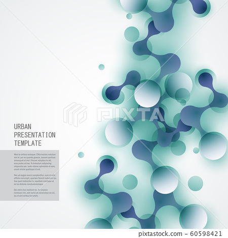 Abstract connect molecule vector and technology concept illustration 60598421