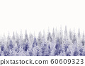 Watercolor painting of the forest background. 60609323