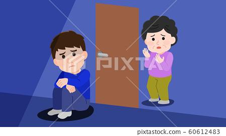 房间撤离男人担心母亲图 60612483