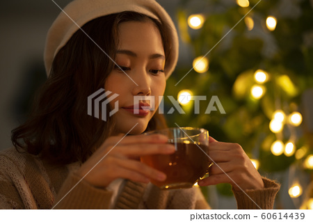 여성 티타임 겨울 60614439