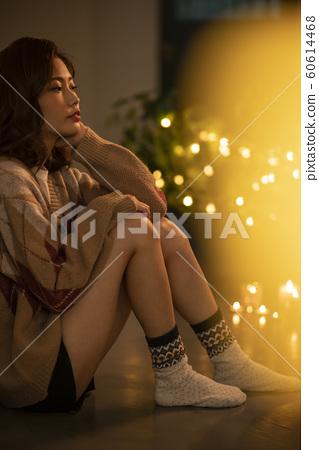 여성 라이프 스타일 겨울 60614468