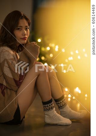 여성 라이프 스타일 겨울 60614469